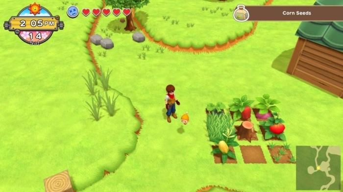 Harvest Moon: One World Seeds
