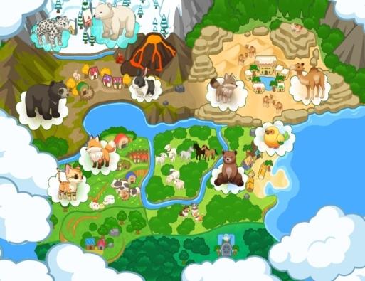 Harvest Moon: One World Map