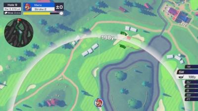 Mario Golf: Super Rush Scene 2