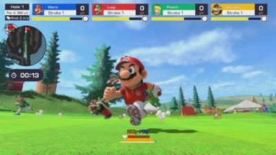 Mario Golf: Super Rush Scene 3