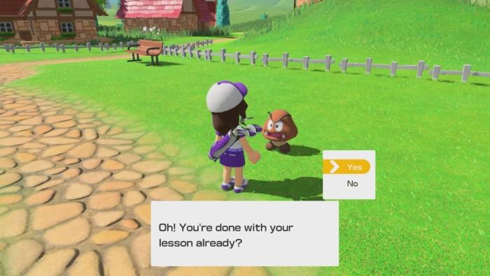Mario Golf: Super Rush Scene 5