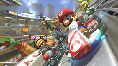 Mario Kart 8 Gameplay Scene 1