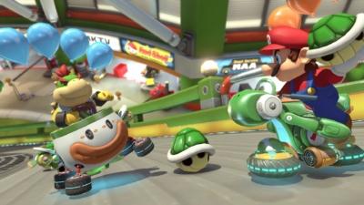 Mario Kart 8 Gameplay Scene 2