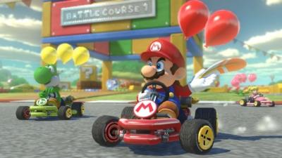Mario Kart 8 Gameplay Scene 3