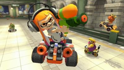 Mario Kart 8 Gameplay Scene 5