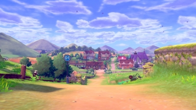 Pokémon Shield Scene 1