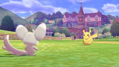 Pokémon Shield Scene 5