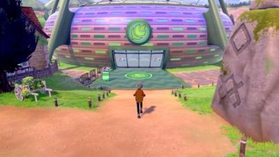 Pokémon Shield Scene 3
