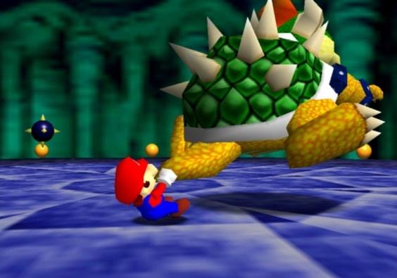 Super Mario 64 Scene 3