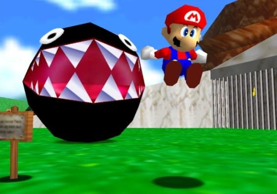 Super Mario 64 Scene 4