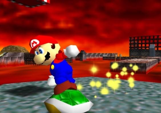 Super Mario 64 Scene 5