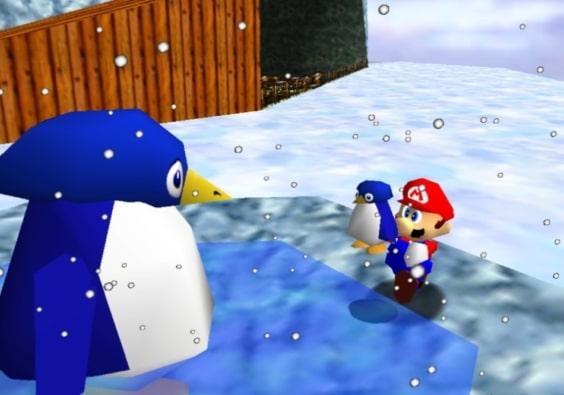 Super Mario 64 Scene 2