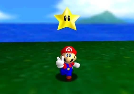 Super Mario 64 Scene 1