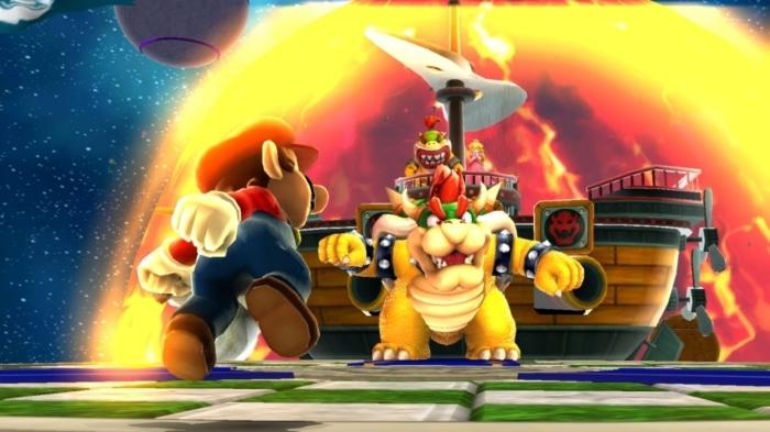 Super Mario Galaxy Scene 1