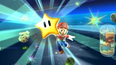 Super Mario Galaxy Scene 3