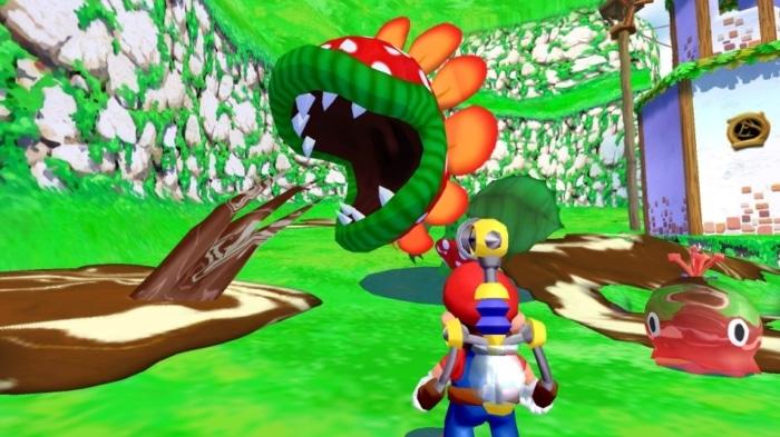 Super Mario Sunshine Scene 2