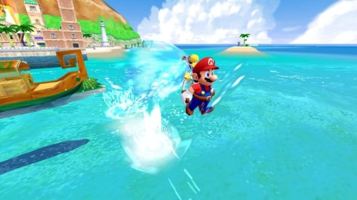 Super Mario Sunshine Scene 3