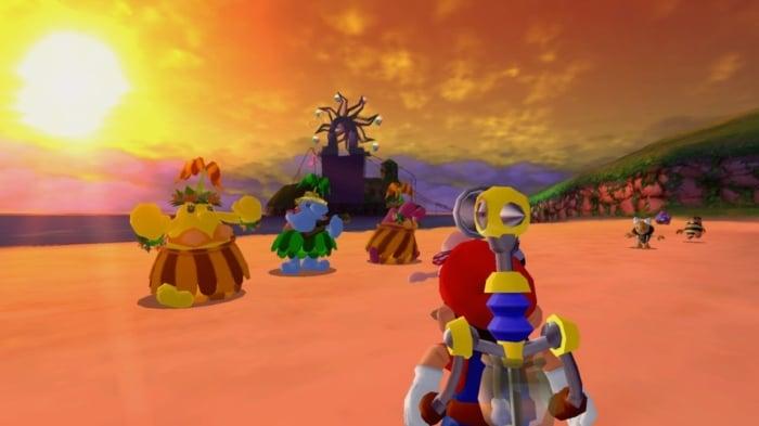 Super Mario Sunshine Scene 4
