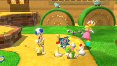 Super Mario 3D World + Bowser's Fury Gameplay Image 1