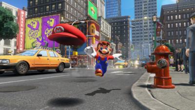 Super Mario Odyssey Street