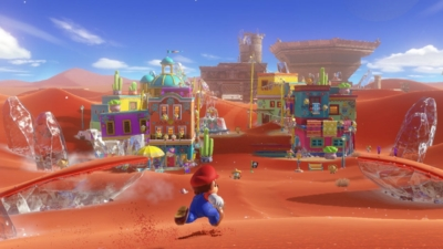 Super Mario Odyssey Desert