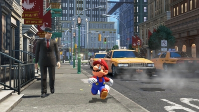 Super Mario Odyssey Taxi