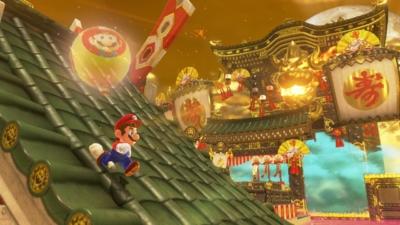 Super Mario Odyssey Chinatown