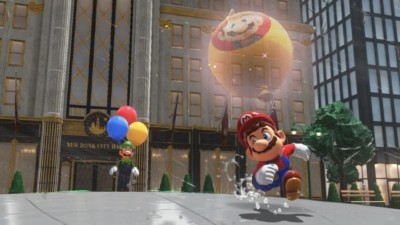 Super Mario Odyssey Mario & Luigi