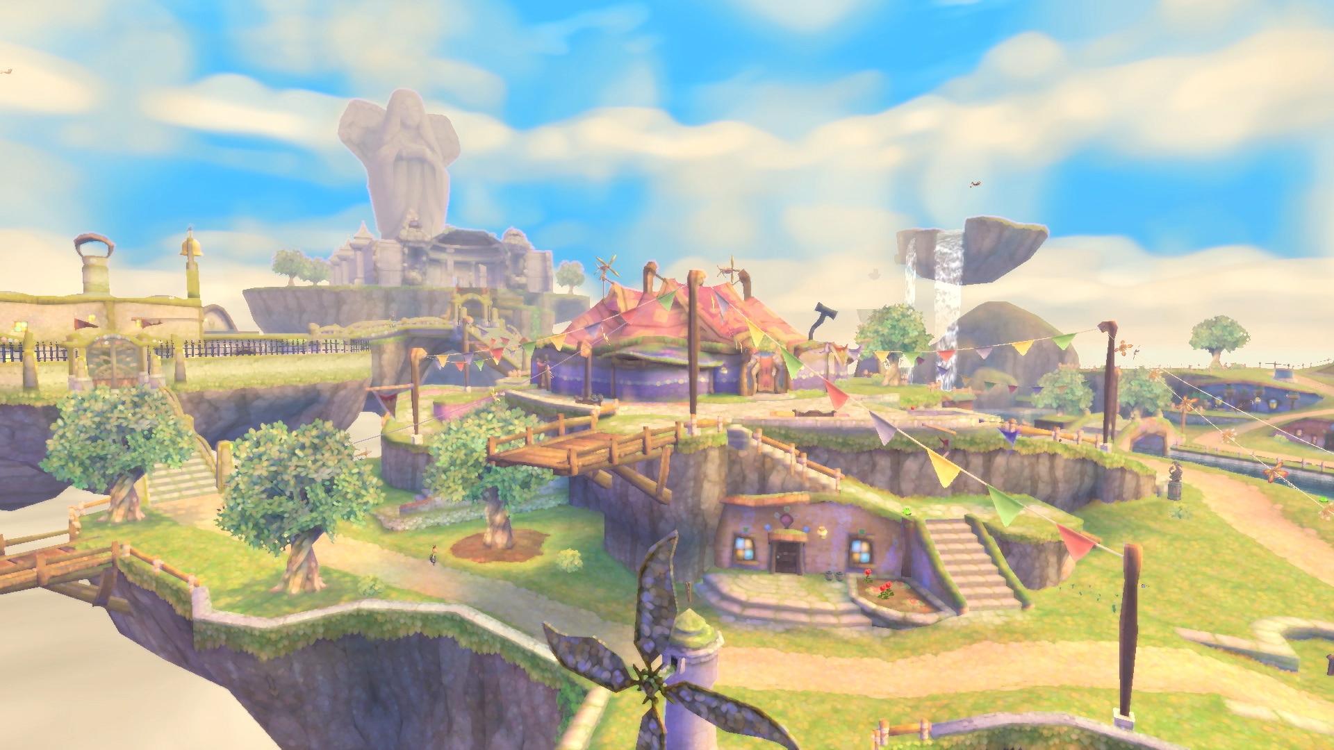 The Legend of Zelda: Skyward Sword HD Scene 1