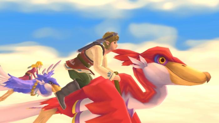 The Legend of Zelda: Skyward Sword HD Scene 2