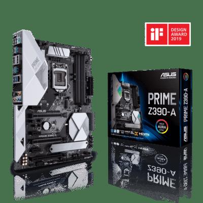 ASUS PRIME Z390-A Promo View