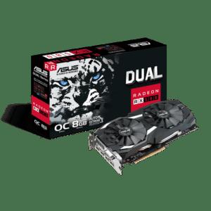 Asus Radeon RX 580 Dual 8GB OC Box View