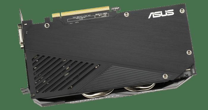 ASUS Dual GeForce RTX 2060 OC EVO 6GB Fan Backplate