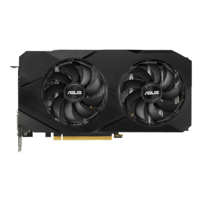ASUS Dual GeForce RTX 2060 OC EVO 6GB Fan View