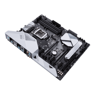 ASUS PRIME Z390-A Angled View