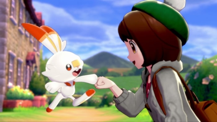 Pokémon Shield Character Scene
