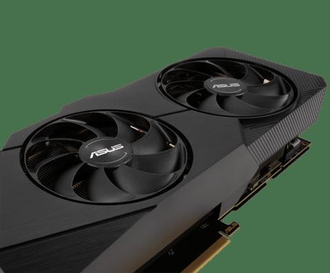 ASUS Dual GeForce RTX 2060 OC EVO 6GB Fans