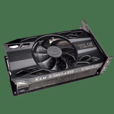 EVGA GeForce RTX 2060 SC Angled Fan View