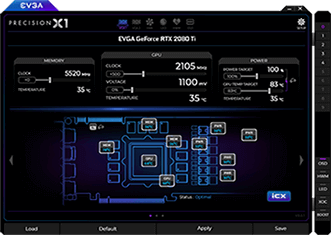 EVGA Precision X1 Screenshot 2