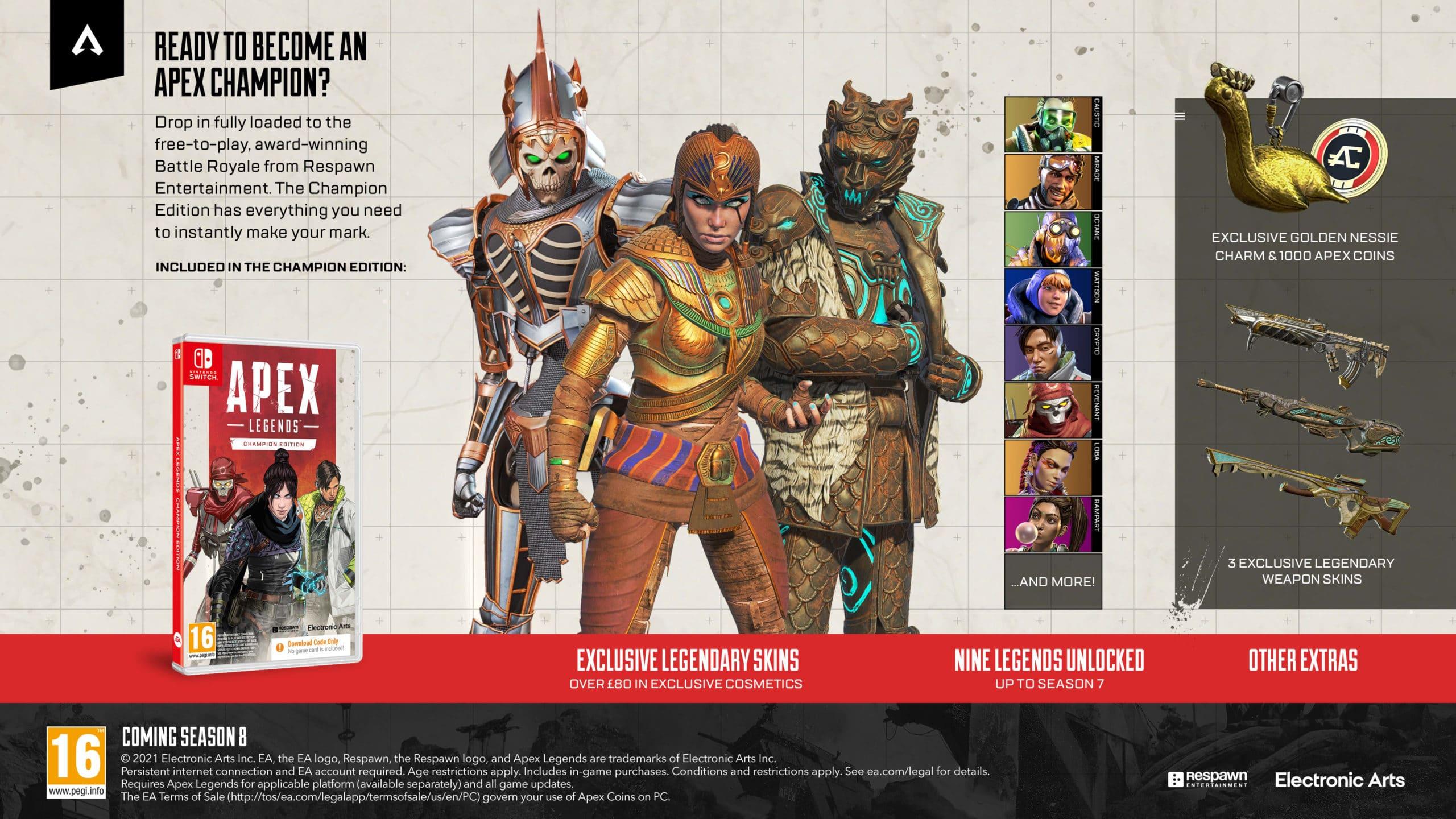 APEX Legends Champion Edition Info Graphic