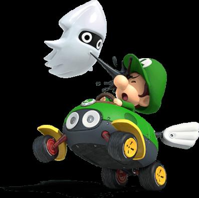 Mario Kart 8 Deluxe Scene Baby Luigi