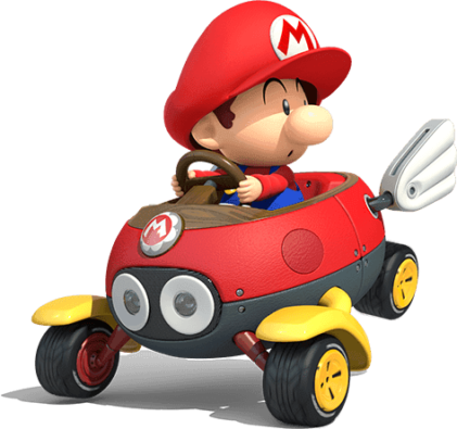 Mario Kart 8 Deluxe Scene Baby Mario