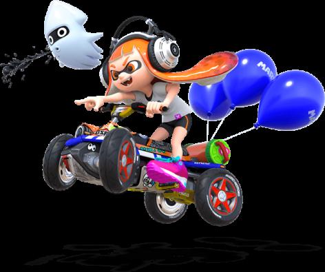Mario Kart 8 Deluxe Scene Girl
