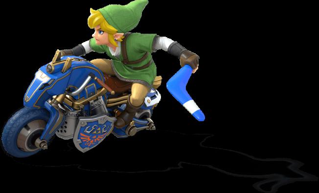 Mario Kart 8 Deluxe Scene Zelda