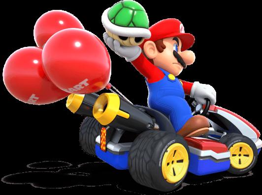 Mario Kart 8 Deluxe Scene Mario