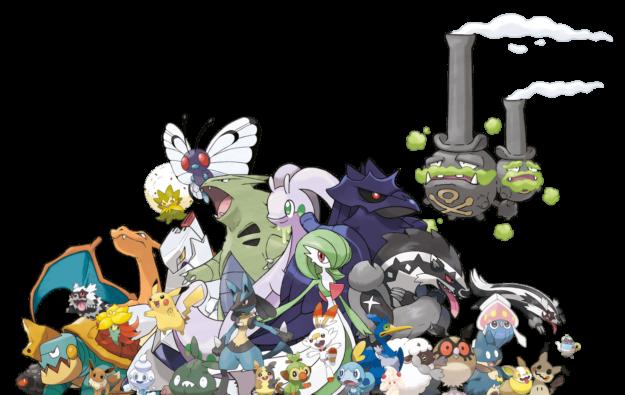 Pokémon Shield Scene