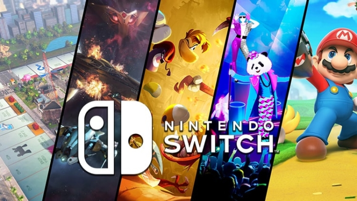 Nintendo Switch Games Poster