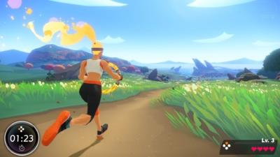 Ring Fit Adventure Gameplay Scene 1