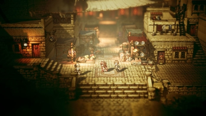Octopath Traveler Scene 1