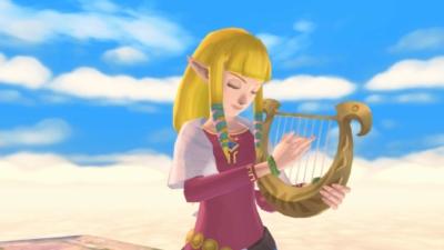 Zelda: Skyward Sword HD Scene 3